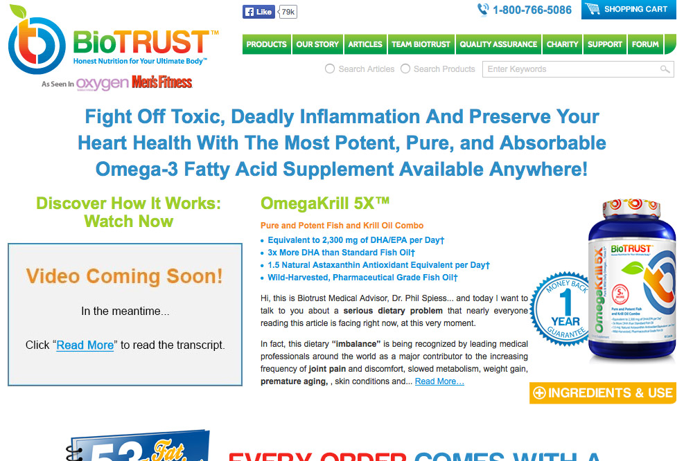 BioTrust Website